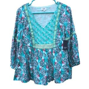 NWT | Crown & Ivy | blouse | small